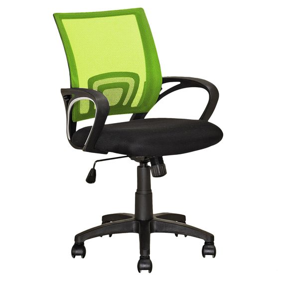 CorLiving Workspace Mesh Back Office Chair in Lime