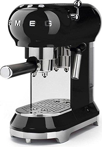Smeg Espresso Machine Black Ecf01 Blus Smeg Espresso Coffee