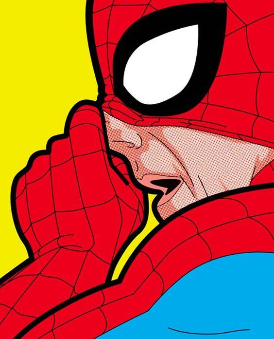 """Secret life of heroes"" of illustrator Greg Guillemin"