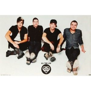 All Time Low Chillin Domestic Poster