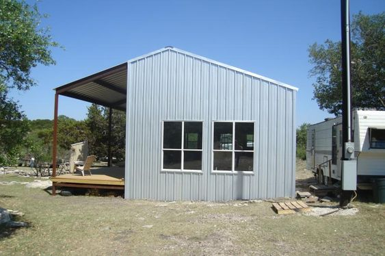 Metal Building With Living Quarters Homestead