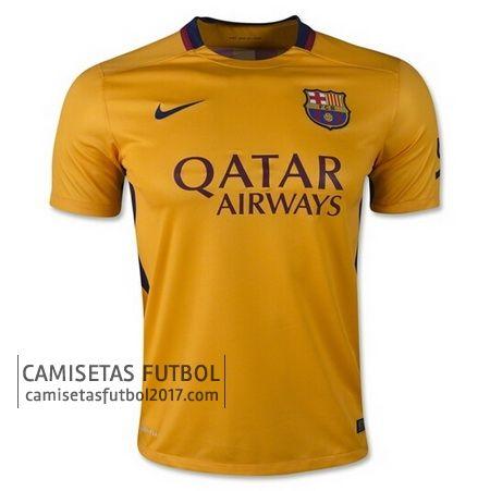Segunda camiseta de tailandia Barcelona 2015 2016   camisetas de futbol baratas