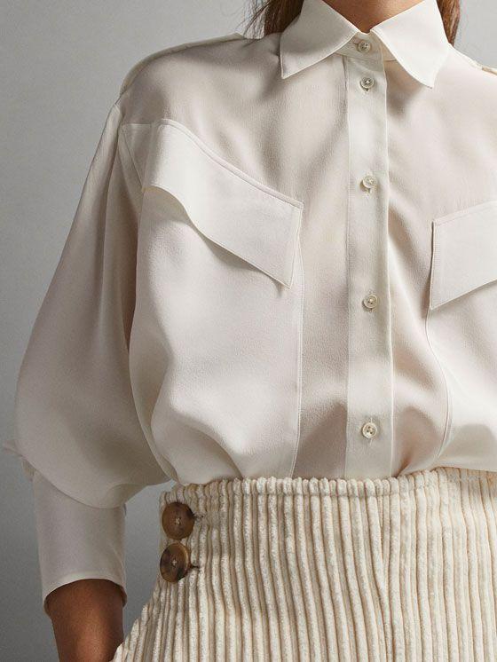 Женские рубашки и блузки | Massimo Dutti Осень Зима 2018
