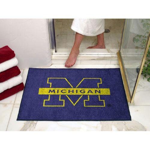 Michigan Wolverines NCAA All-Star Floor Mat (34x45)