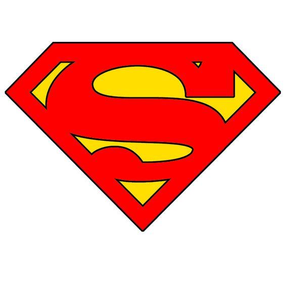 Stencils templates stencils pinterest stencils for Superman logo template for cake