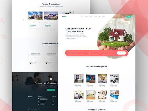 Hire A Freelance Developer For Programming Jobs Fiverr In 2020 Real Estate Landing Pages Business Web Design Corporate Web Design