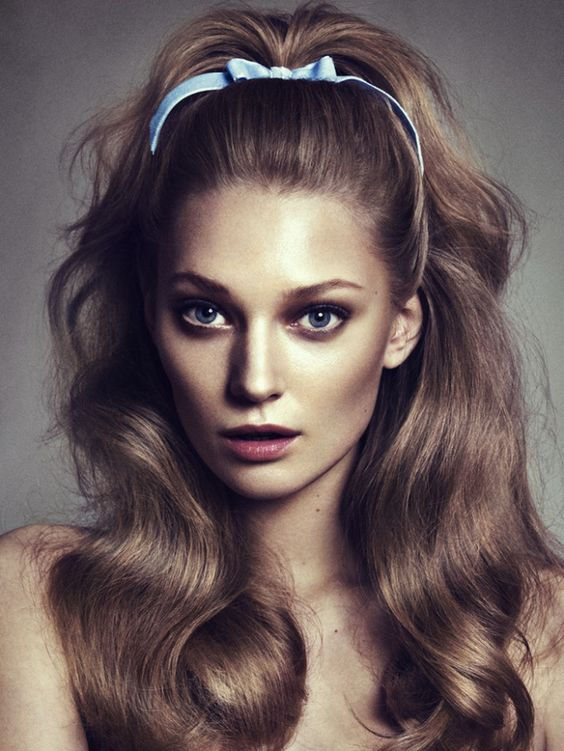 The Fastest Way to a Good Hair Day? A Simple Bow Headband... #hair #inspirations