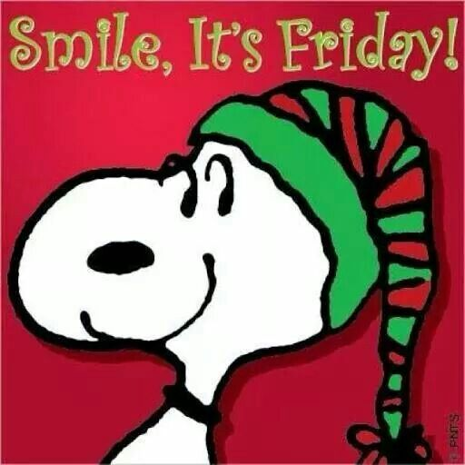 Smile,  its Friday