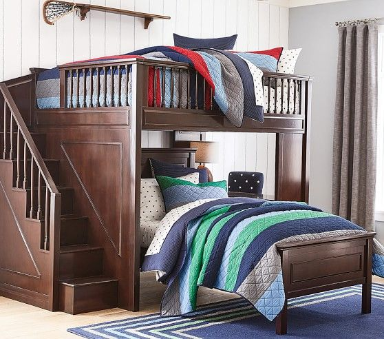 Pin By Irina On Dizajn Spalni Loft Bed Kids Loft Beds Bedding Sets