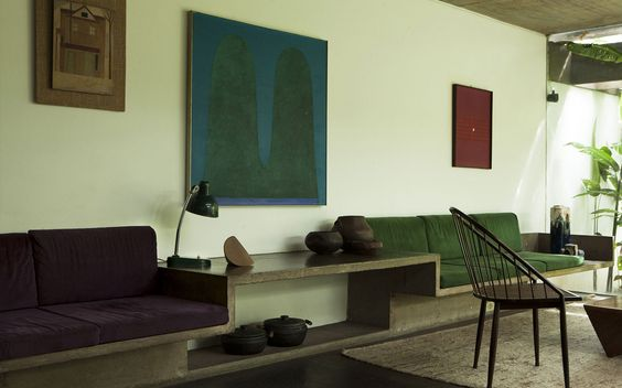 i look at this house and i'm like… (a) i want to live there. but (b) Axel would bang his head on that cool coffee table, and spit upon that leather chair, and fall down those rad concrete stairs…