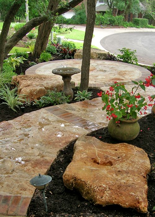 Landscaping pictures of texas xeriscape gardens and much for Xeriscape garden designs