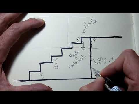 18+ Como trazar una escalera ideas