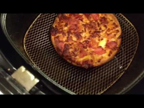 Kellys Rambling Reviews Cooking A Mini Costco Pizza In Philips