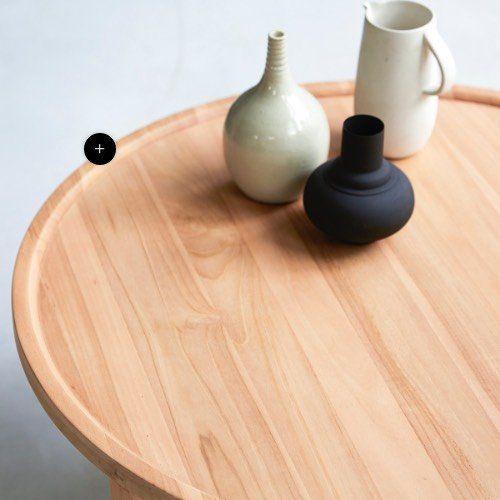 L Histoire De Tikamoon La Marque Francaise De Mobilier En Bois En 2020 Table Basse Teck Deco Interieur Salon Table Basse Bois Massif