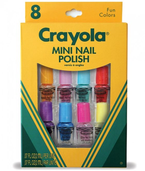Crayola launches nail polish range...yes really!
