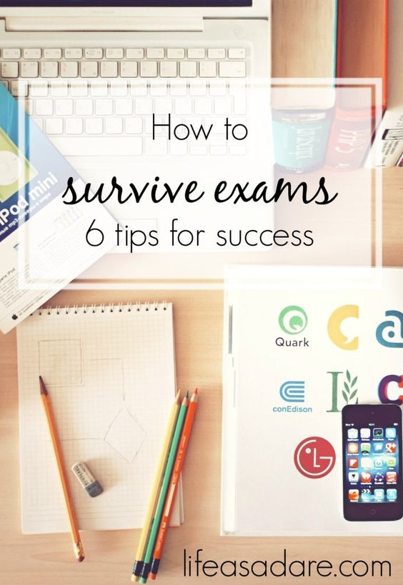 Exams can be terrible, but there are some ways to prepare that will help you get the best results! Read the rest at lifeasadare.com