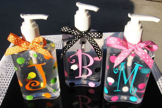Personalized hand sanitizer! Great Teacher gifts!