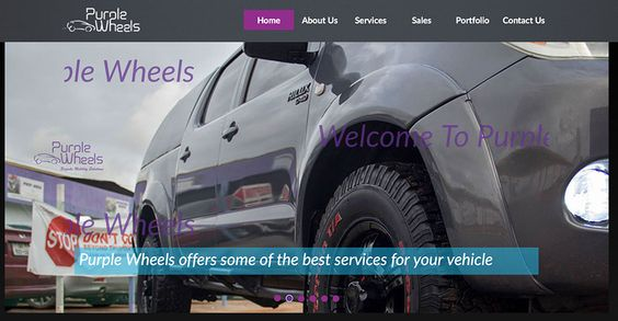 This website was design for Purple Wheels, which is an automative care center. There services include maintenance works, car body spray, customizations and upholstery. Check them out at www.purplewheels.net