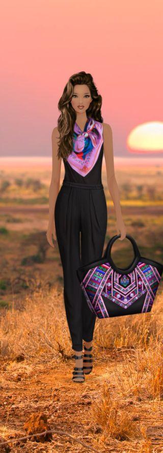 Nubian Princess Look: