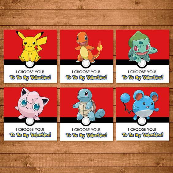 Pokemon Valentines Day Card Pokemon Valentines Pokemon School – School Valentines Cards