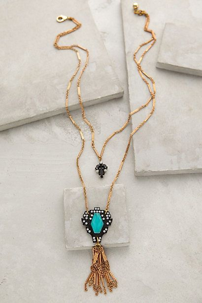 Lucid Tassel Necklace #anthrofave #anthropologie
