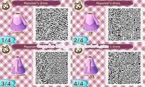 Animal Crossing New Leaf QR Code Disneys Tangled Rapunzel