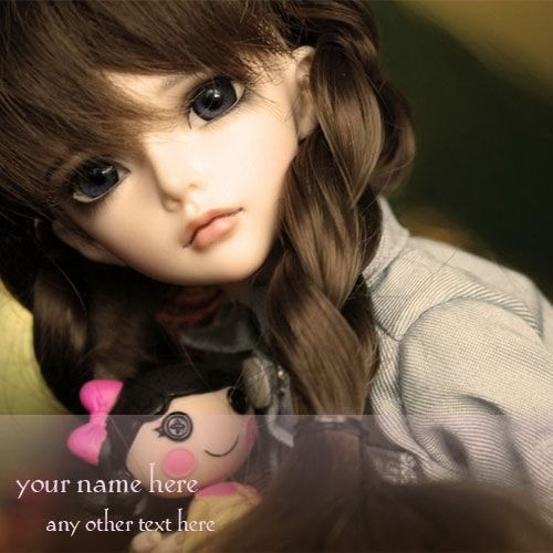 Name On Cute Dolls Images For Whatsapp Profile Picture In 2020 Whatsapp Profile Picture Profile Picture Profile Wallpaper