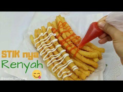 Cara Buat Stik Kentang Keju Yang Renyah Krispy Youtube Ide Makanan Kentang Resep Makanan