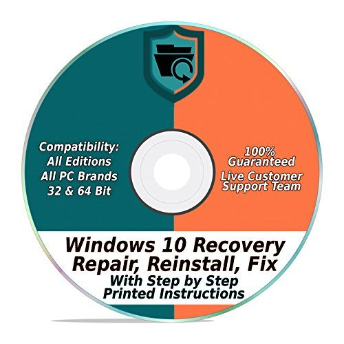 Windows 10 Repair Recovery Disk Pro Home 32 64 Bit Https
