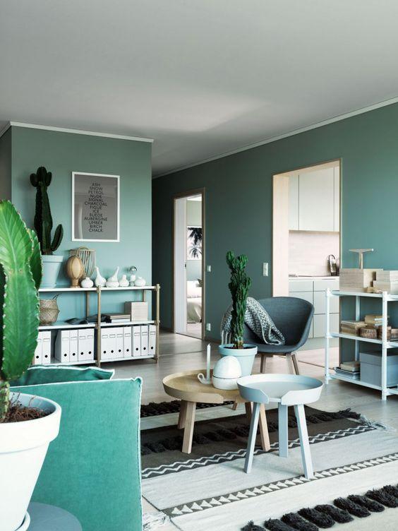 tren warna rumah, green ash