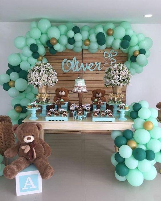 Arreglos Para Baby Shower Ideas De Decoracion Para La Bienvenida De Tu Bebe En 2020 Temas De Baby Shower De Nino Decoraciones De Fiestas Para Bebes Decoraciones De Baby Shower Para Ninos