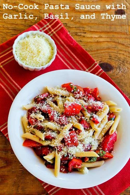 Thyme pasta sauce recipe