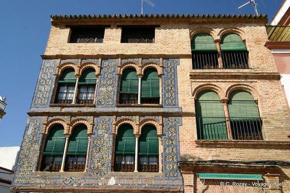 Carmona Briques et azulejos, Espanha, Andaluzia