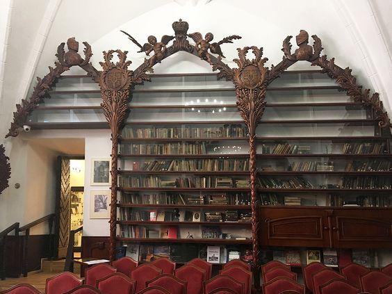 Библиотека в Музее имени И. Канта. Фото: Evgenia Shveda