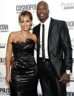 Reports: Evelyn Lozada has filed for divorce from Chad Johnson. They have been married less than six weeks. (Photo by AP)