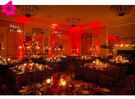 bodas color vino | Combinación de colores para una boda color rojo