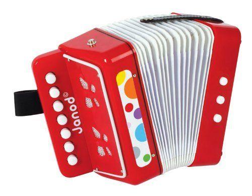 accordeon (zelfde lijn als Iris' gitaar)