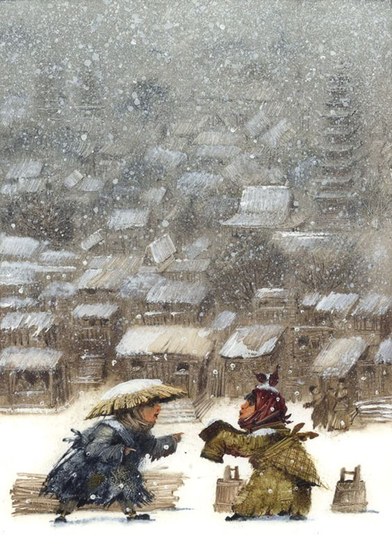 Russian illustrator Igor Oleynikov works Appreciation – visualworld-4page