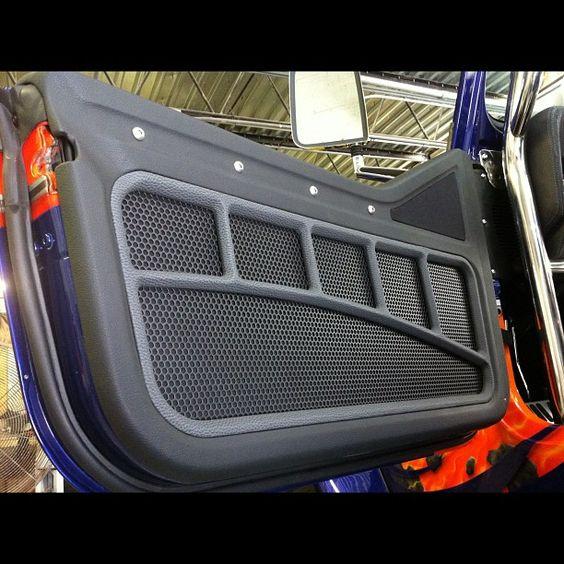 the door panel is on the jeep custom auto addiction interiors pinterest door panels. Black Bedroom Furniture Sets. Home Design Ideas