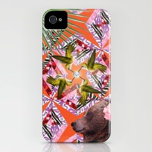▲ KURUK ▲ iPhone Case by Marie Brignot ▲ BOHEMIAN BLAST - $35.00