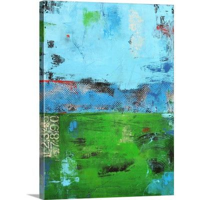 Canvas On Demand 'Urban Meadow' by Erin Ashley Painting Print on Canvas