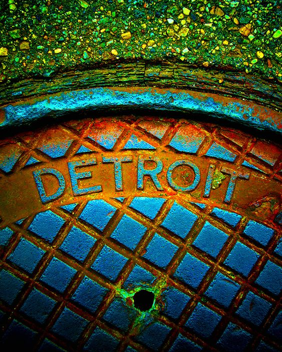 Metro Devious Detroit Man Hole cover Matt saw this on Fox 2 News and has always…: