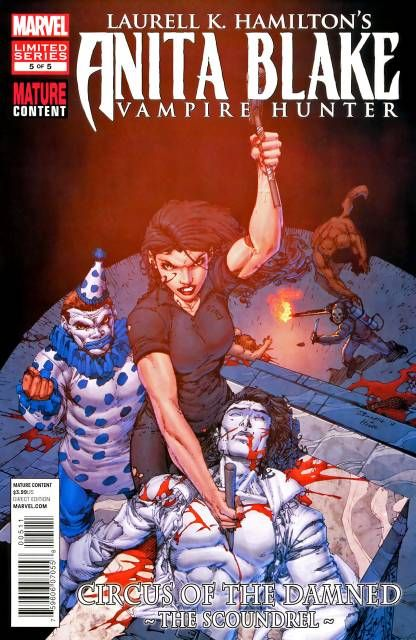 Anita Blake, Vampire Hunter: Circus of the Damned - The Scoundrel (Volume) - Comic Vine