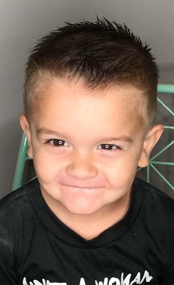 60 Cute Toddler Boy Haircuts Your Kids Will Love Little Boy Hairstyles Little Boy Short Haircuts Boys Haircuts