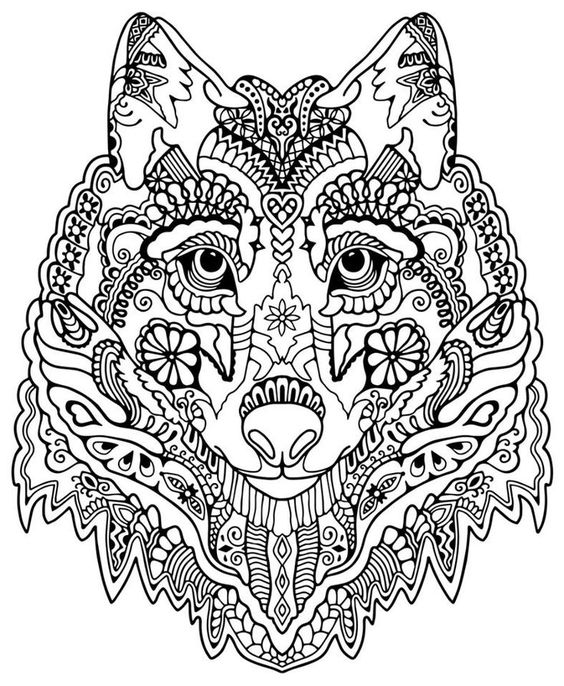 intricate coloring pages gianfreda 359327