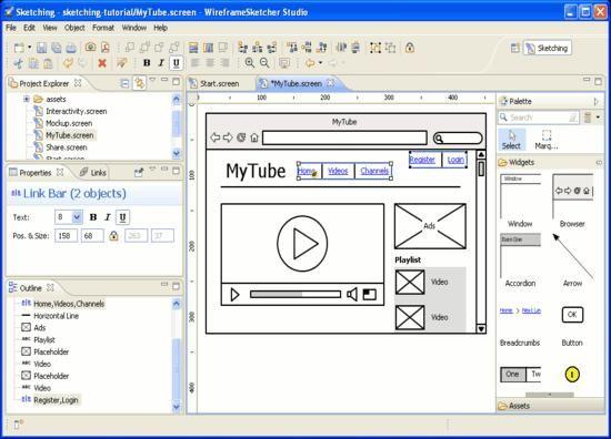 Balsamiq Mockups One Of The 10 Best Wireframe Tools For Webdesign Web Design Wireframe Web Development Design