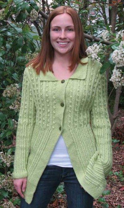 Ladies Knitting Patterns For Cardigans : Free Knitting Pattern - Womens Cardigans: Antonia Stylish Long Cardigan ...