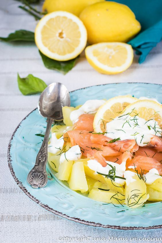 Ricetta Salmone Affumicato E Yogurt Greco.Pin Su Food And Drink