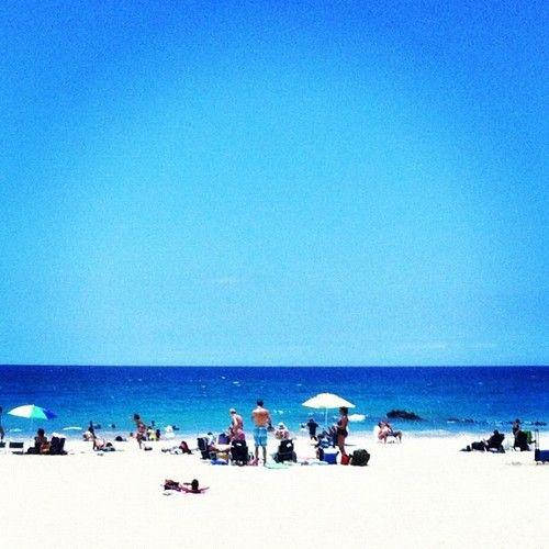 Sun, Sand, Surf.
