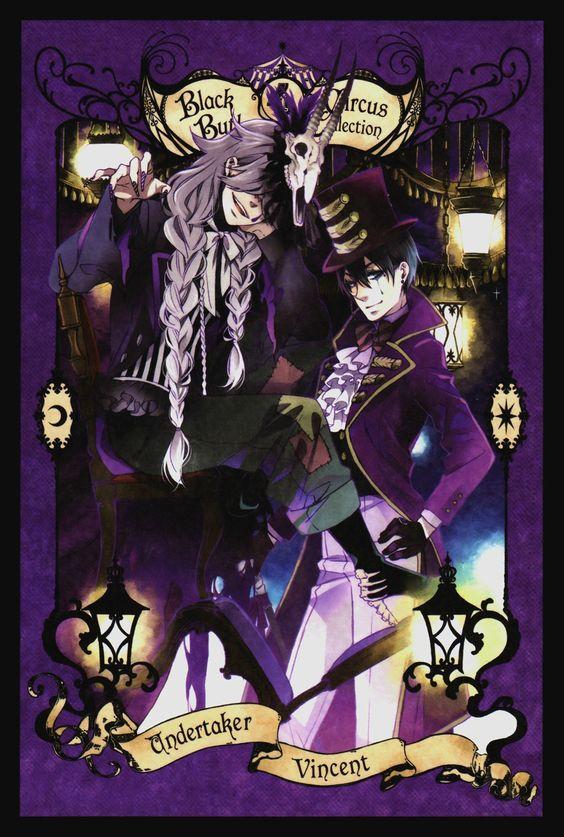 黑执事 马戏团篇5卷特典卡 - http://mag.moe/12686 #马戏团篇, #黑执事 美的不要不要的~~~~舔屏!!!